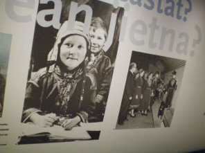 Sami people in the Nordiska Museet.