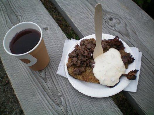 Reindeer Meal at Skansen