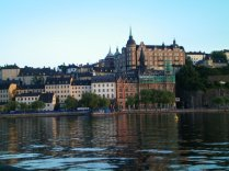 Stockholm in the evening.