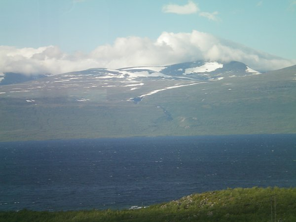 Taken from the train between Kiruna and Narvik in Norway.