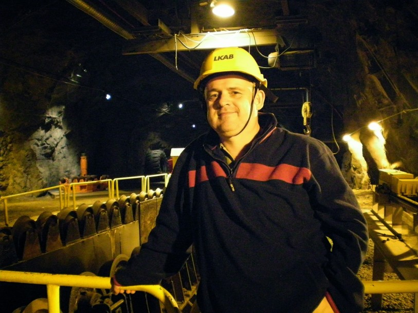 Kiruna Mine is the largest and most modern underground iron ore mine of the world.