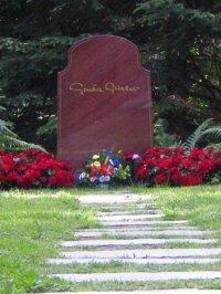 Greta Garbo Grave in Stockholm