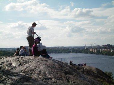 Sodermalm Cliffs, Stockholm