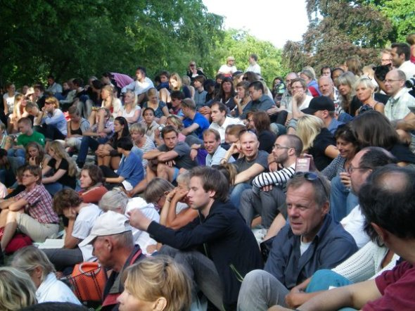 Summer concerts in the park in Stockholm