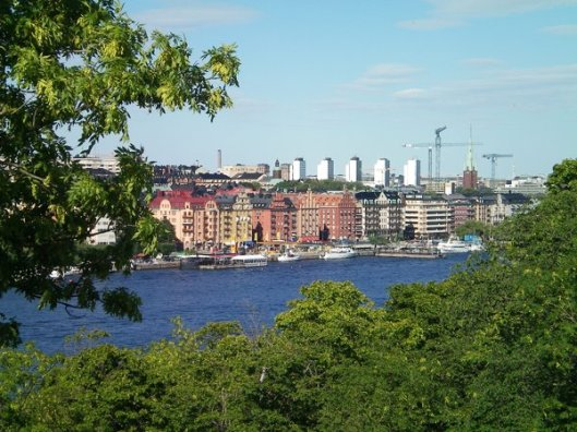 Stockholm in summer.