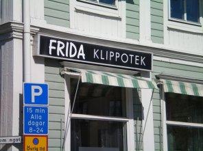 Frida Hairdresser in Eskilstuna, Sweden