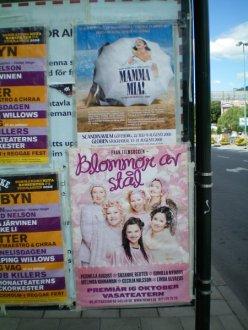 Bjorn Ulvaeus has Mamma Mia, Linda Ulvaeus has Steel Magnolias.