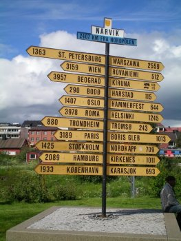 All roads lead to Narvik in Norway