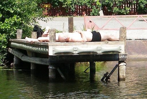 Enjoying the Swedish Summer