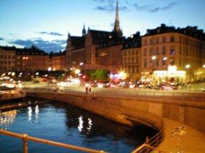 Stockholm i natt