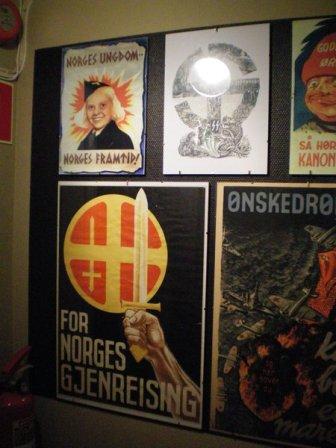 Propaganda in Narvik War Museum