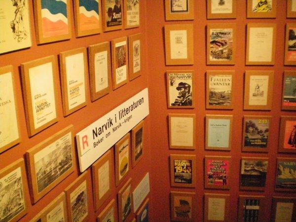 Narvik in Literature in War Museum