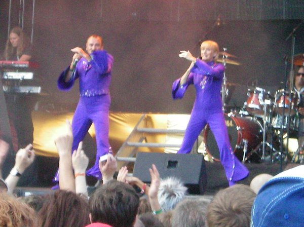 Hugo and Nicole at Schlager Pride