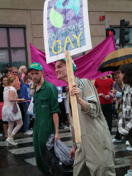 Fair Trade Gays at Europride in Stockholm 2008