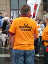 So facking proud at Europride in Stockholm 2008