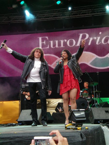 Svenne and Lotta at Europride