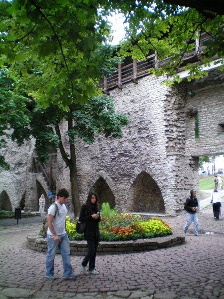 Old Town Wall in Tallinn