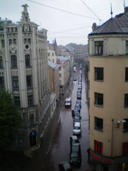 View from my bedroom, Riga