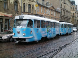 Riga's tram system isn't that modern, but still better than Tallinn