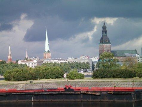City view, Riga