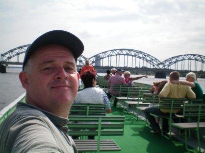 River cruise at Riga, Latvia
