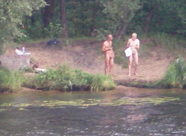 Skinny dipping on the river, Riga. This image, by the way is always amongst the most visited pages on my website, thanks to search engines. Seriously