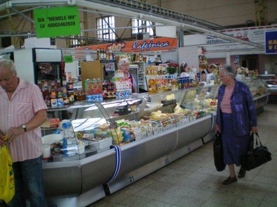 Central Markets, Riga