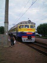 Train between Riga and Jurmala