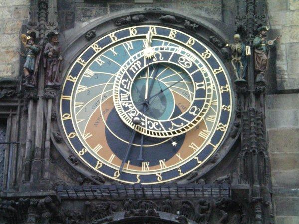 Prague Town Clock