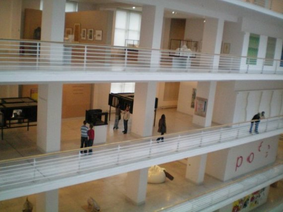The gallery itself is pretty amazing. I really like the way they make use of open spaces.