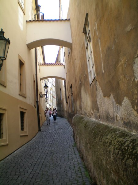 Somewhere near the Prague Castle