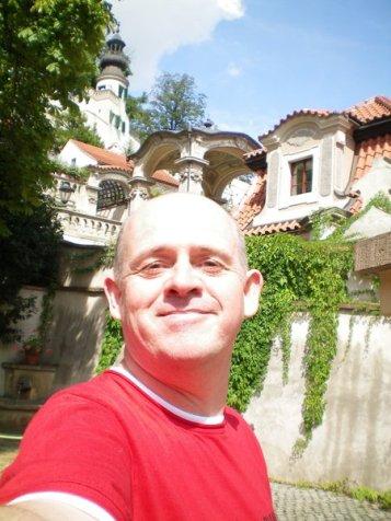 Lower Gardens of the Prague Castle