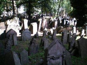 One of the consequences of this is an overcrowded graveyard that actually goes a couple of metres in to the air, as graves were piled one upon the other.