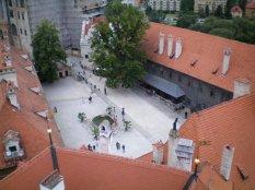 View from the tower in Český Krumlov