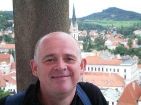 Me in Český Krumlov