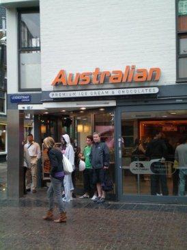 Australian Ice Cream & Chocolates! Seriously...