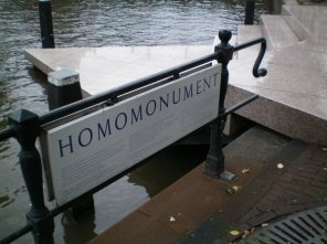 Homo Monument recognises the oppression of gays and lesbians.