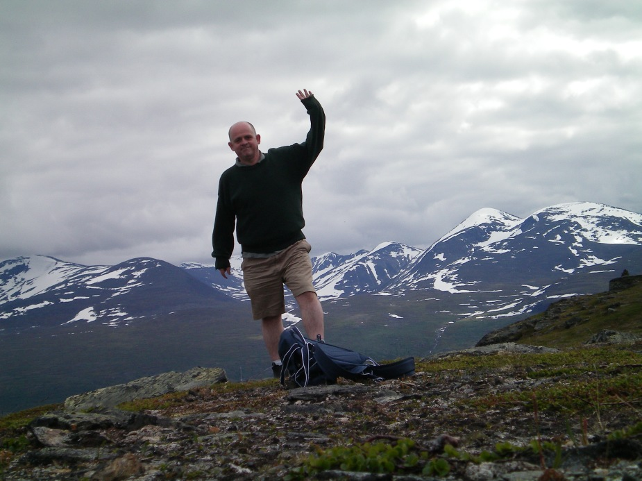 Arbisko National Park, on the northern border between Norway and Sweden.