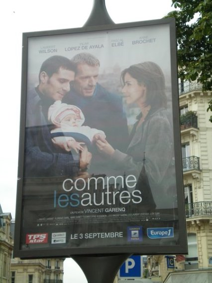 Menage a trois? How unsual for a French film.