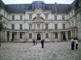 Chateau Royal, Blois, France
