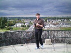 David at Amboise.