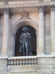 Statue of Napoleon at Les Invalides