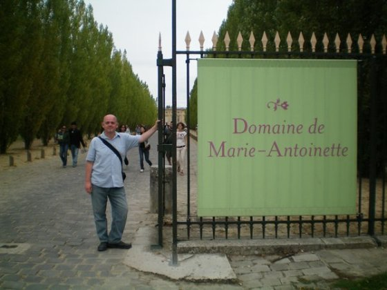 Due to the weather forcing a closure, we never made it inside at Domaine de Marie-Antoinette