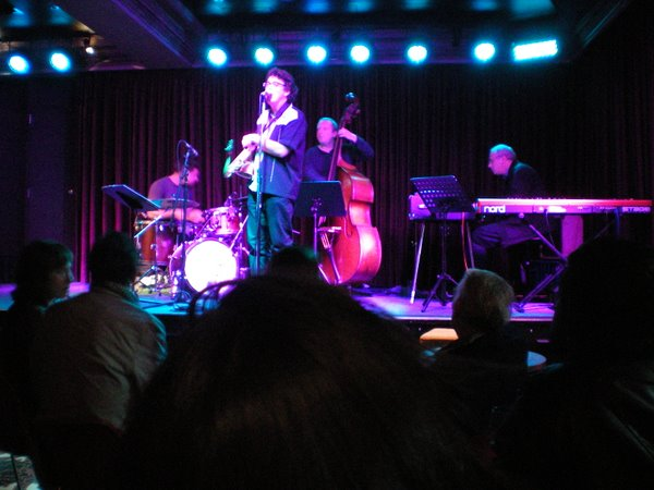 The big highlight of the day has been going to see James Valentine play jazz at the Empire Hotel