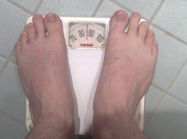 My weight in October 2008.