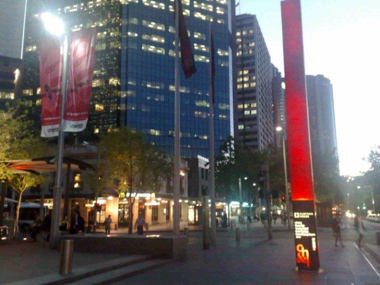 Near Customs House, Sydney