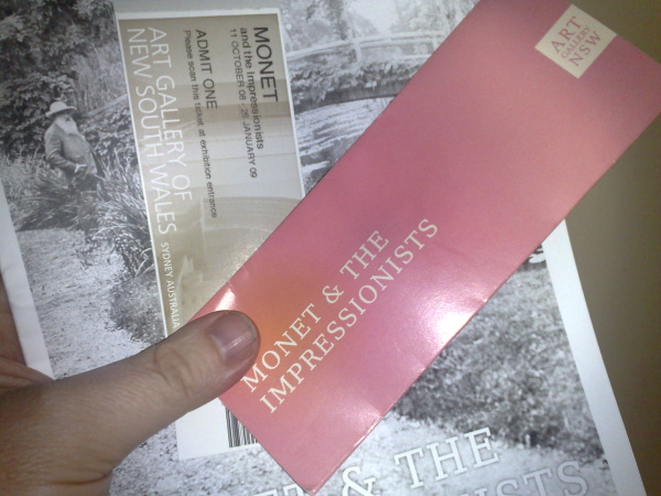 Monet Exhibition at Art Gallery of NSW