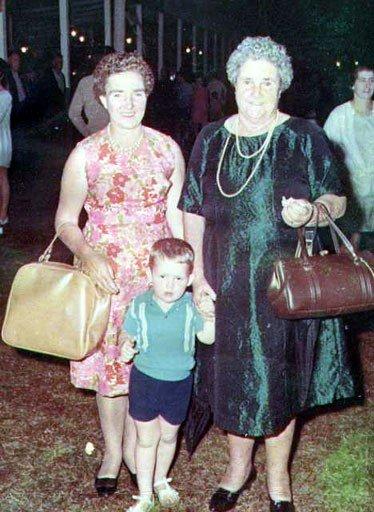 Bertha O'Brien (Dunn), James O'Brien, Bertha Dunn (Rixon)