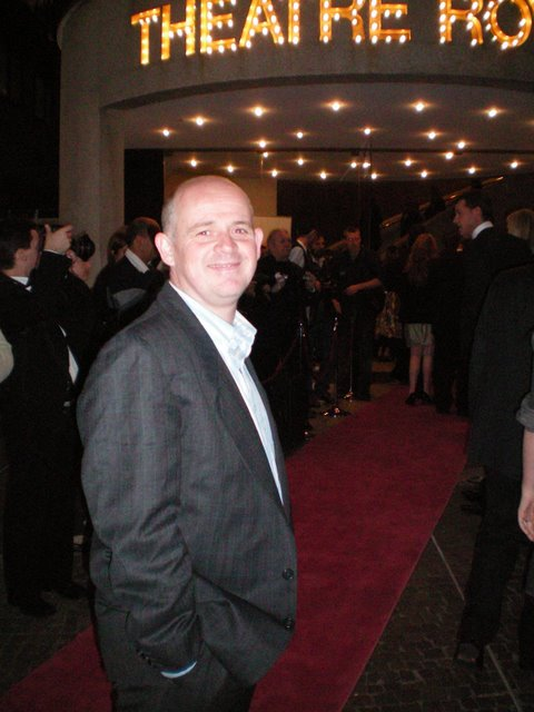 Red carpet at the opening night of the show in Sydney, October 2008.