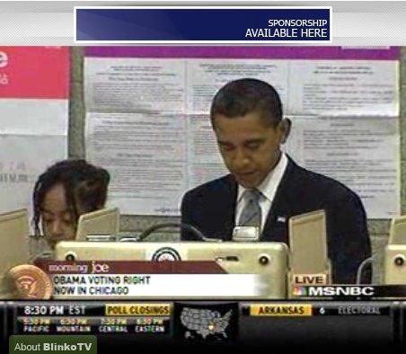 Obama Votes